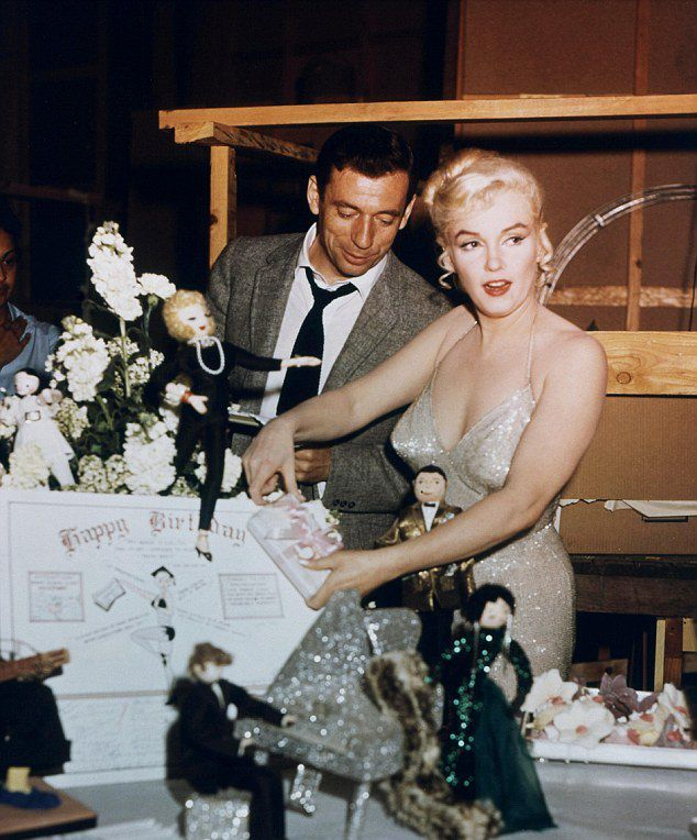 Marilyn Monroe a Yves Montand
